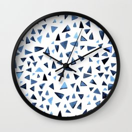 Blue dance Wall Clock
