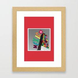 1/3 Mexican Flag  Framed Art Print