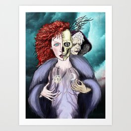 The Crone  Art Print