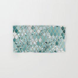 Mermaid Glitter Scales #3 #shiny #decor #art #society6 Hand & Bath Towel