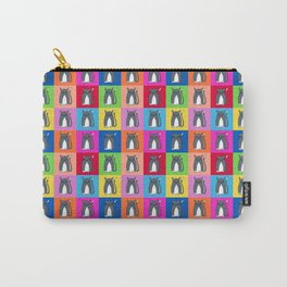 Pussy Cat illustration pattern Carry-All Pouch