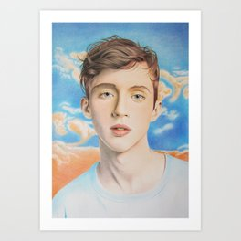 Troye Sivan Art Print