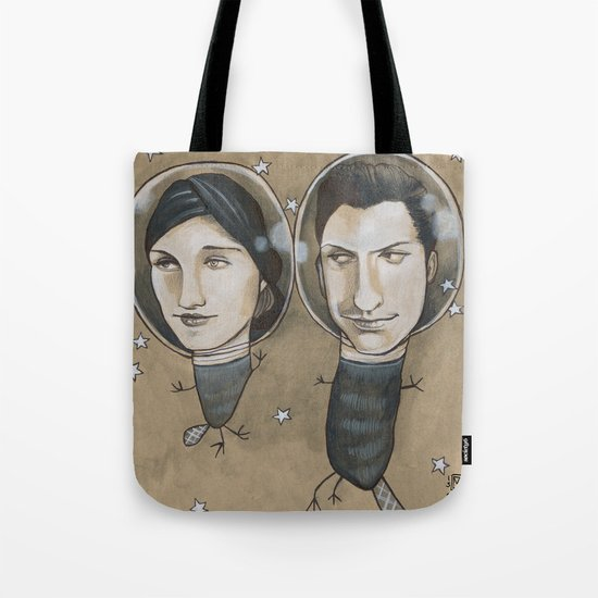 Outer Face Tote Bag