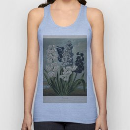 Edwards, S. (1768-1819) - The Temple of Flora 1807 - Hyacinths Unisex Tank Top