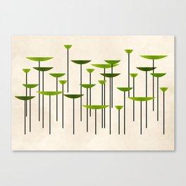 Contemporary II - green Canvas Print