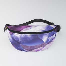Space Sloth Riding On Unicorn Fanny Pack