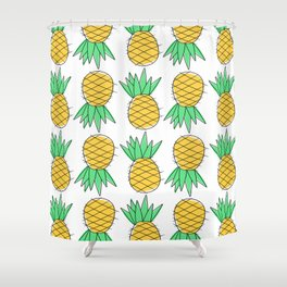 Pineapple please. Shower Curtain
