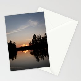 Northern Sunset 003 Stationery Cards