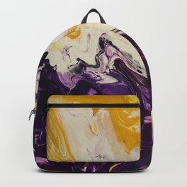 """""""Geaux Tigers"""" by Laurie Ann Hunter Backpack"""