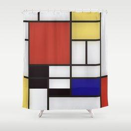 Piet Mondrian Shower Curtain