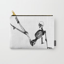Skeleton Breakdance Carry-All Pouch