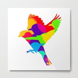 birdIN Metal Print