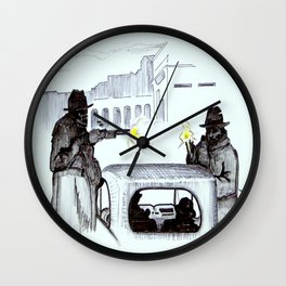 The Exit Wall Clock