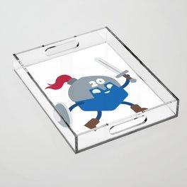 20 Sided Hero Acrylic Tray