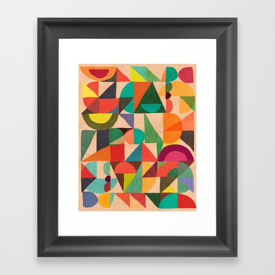 Color Field Framed Art Print