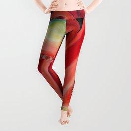 Red Capsicum Leggings