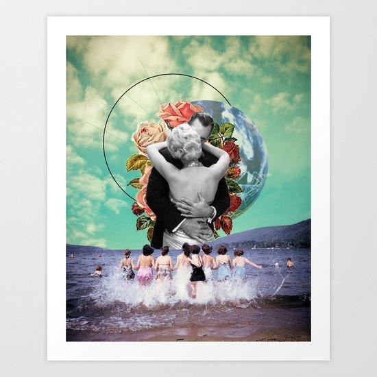 What's on your Horizon Art Print