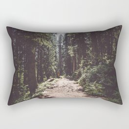 Entering the Wilderness - Landscape and Nature Photography Rectangular Pillow