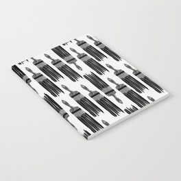 The Old Minimalistic Paint Brush Notebook