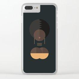 BLACK MAGIC WOMEN / Ahmes Clear iPhone Case