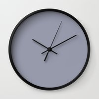 manatee Wall Clocks featuring Manatee by List of colors