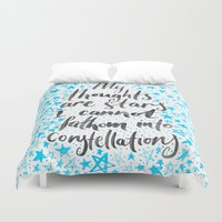 tfios Duvet Covers featuring TFIOS by IndigoEleven