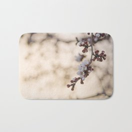 Early Morning Blooms Bath Mat
