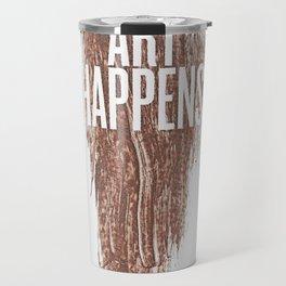 Art Happens Travel Mug