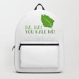 Ha, Ha! You Kale Me Backpack