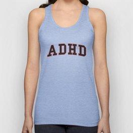 ADHD University Unisex Tank Top