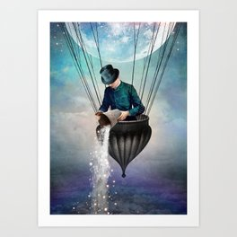 High in the Sky Art Print