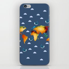 World of Whales iPhone Skin