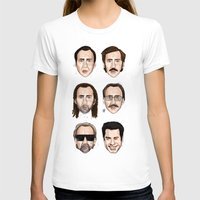 cage T-shirts featuring Cage by Matthew Brazier Illustration