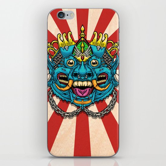 Justice Barong Mask iPhone & iPod Skin