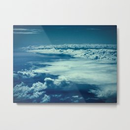 High Above In The Magical Night Metal Print