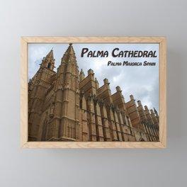 Palma Cathedral Majorca Spain Framed Mini Art Print