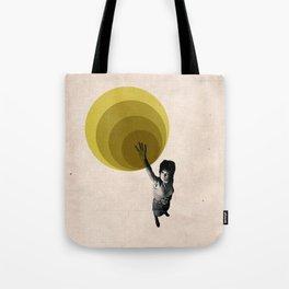 """Radiate"" Graphic Illustration Tote Bag"