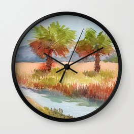 Ranch Palms Wall Clock