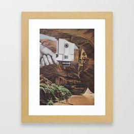 A Simple Recording Framed Art Print