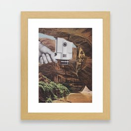 A Simple Recording Framed Art Print