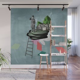 Surreal Collage Wall Mural