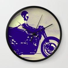 wheels Wall Clock