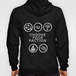 Divergent - Choose Your Faction (White) Hoody