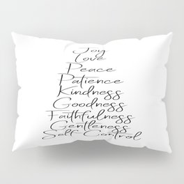 Fruits of the Spirit Pillow Sham