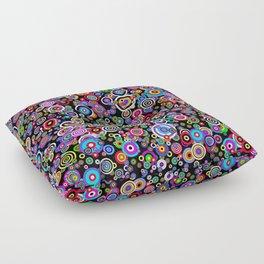 Spots (Version 7) by Bruce Gray Floor Pillow