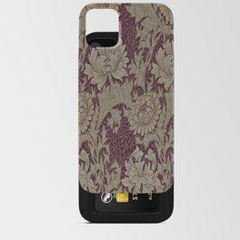 Chrysanthemum By William Morris iPhone Card Case