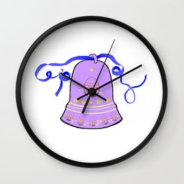 Bell & Egg Wall Clock