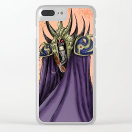 The Necromancer Clear iPhone Case