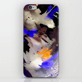 Abstract Watercolor Dark iPhone Skin