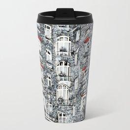Woman in Paris Travel Mug